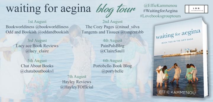 waiting for aegina blog tour