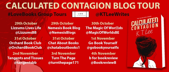calculated contagion blog tour