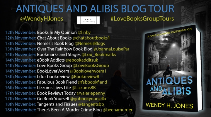 antiques-alibis bog tour