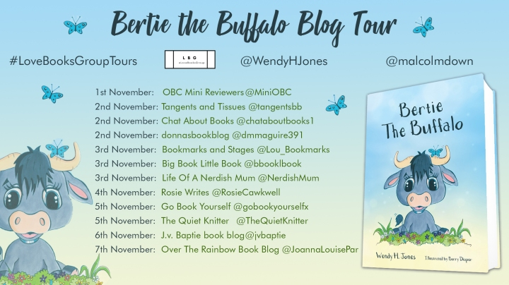 Bertie-Buffalo blog tour