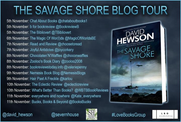 savage-shore blog tour