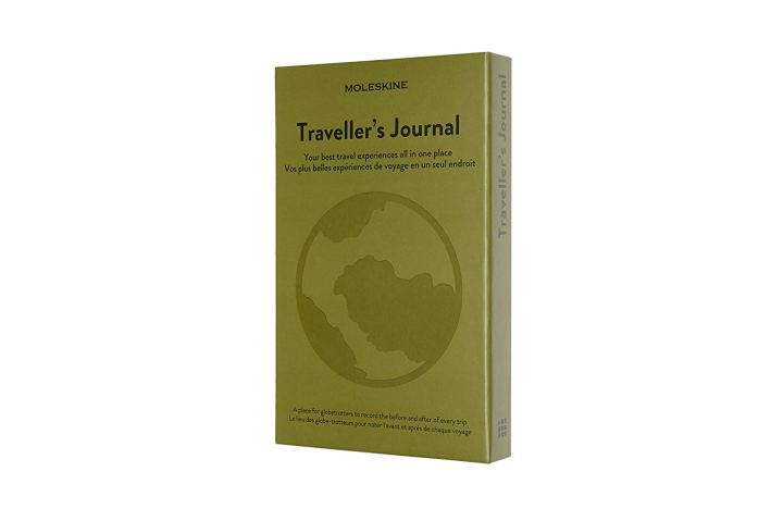 a heart - giveaway prize - moleskin travel journal