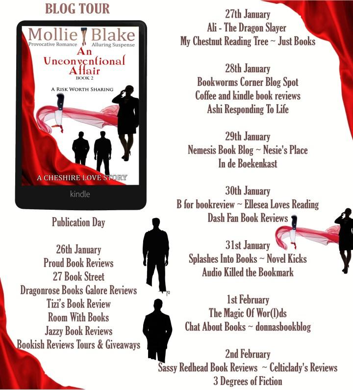 an unconventional affair book 2 full tour banner