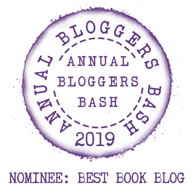 Annual Bloggers Bash Awards Nominee Best Book Blog 2019
