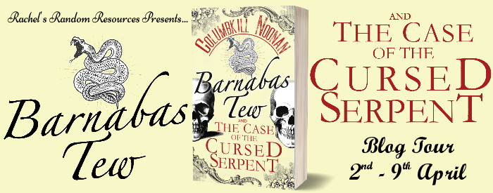 Barnabas Tew and the Case of the Cursed Serpent banner