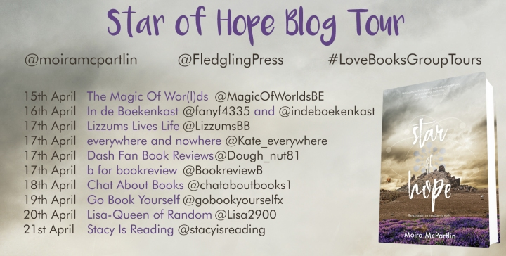 Star of Hope blog tour banner