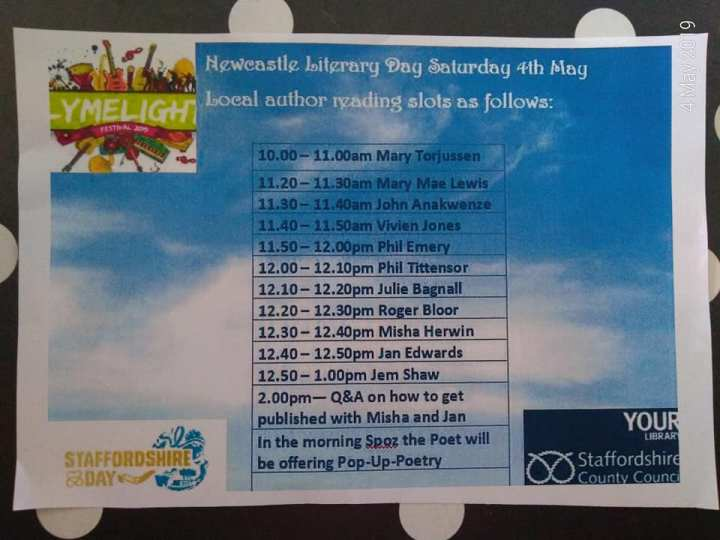 Literary Day line up