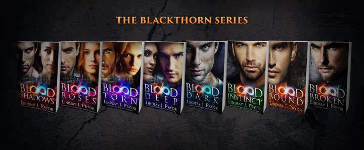The Blackthorn Series banner