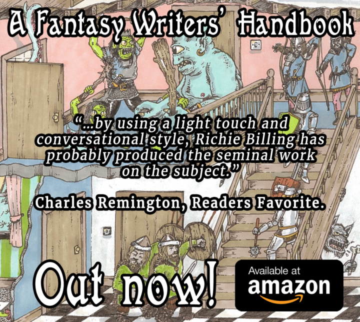 A Fantasy Writers Handbook out-now-with-quote