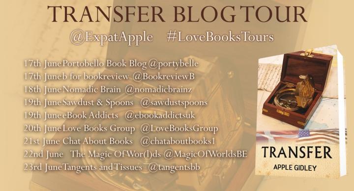 Transfer blog tour