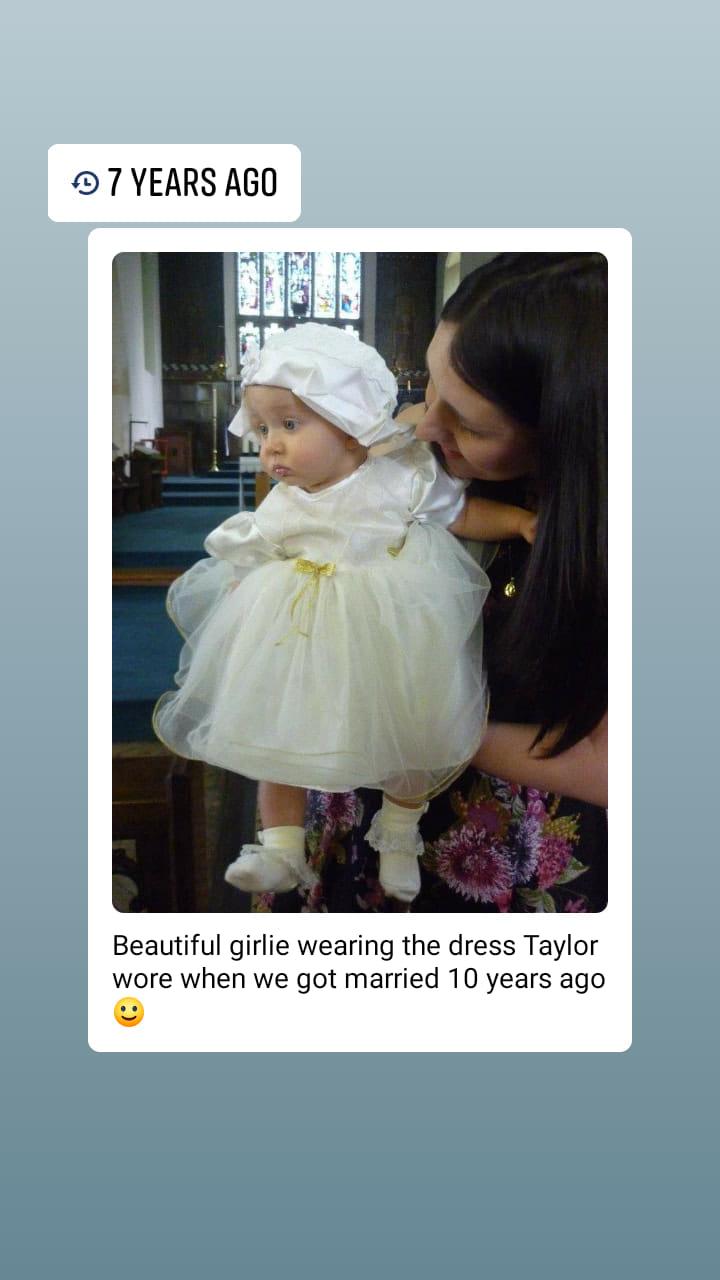 Laina's christening memory