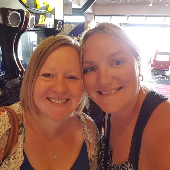 Me & Christine August 2018