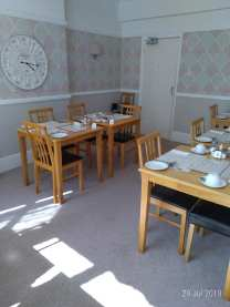 The Kenmore dining room