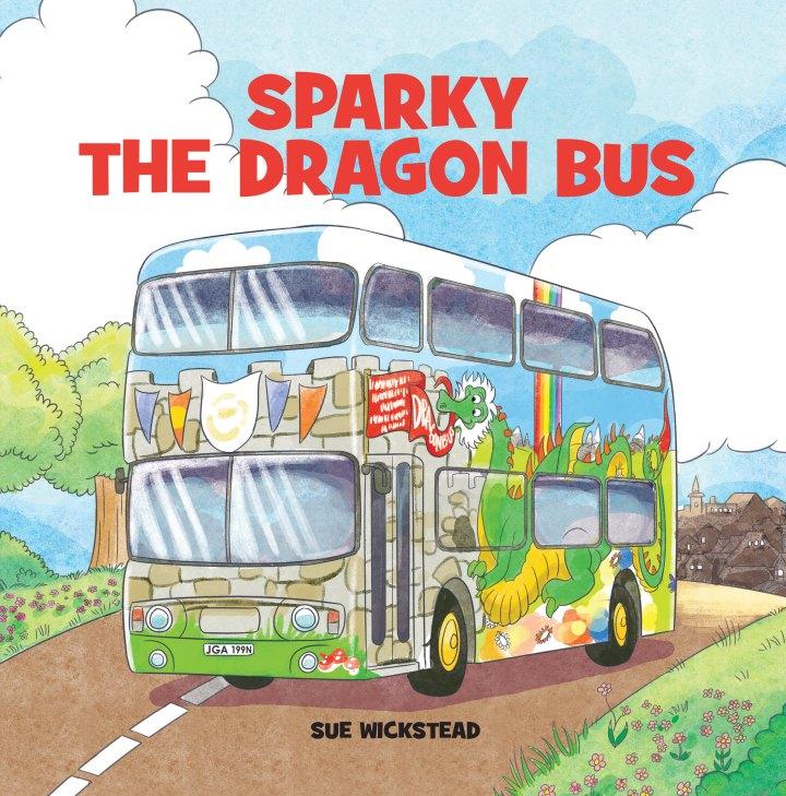 Sparky the Dragon Bus Cover - IngramSpark - AW