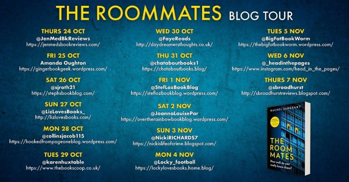 The Roommates Blog Tour Banner