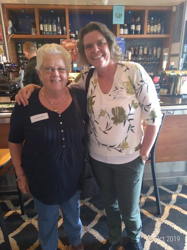 Yvonne Bastian & Mum Julie