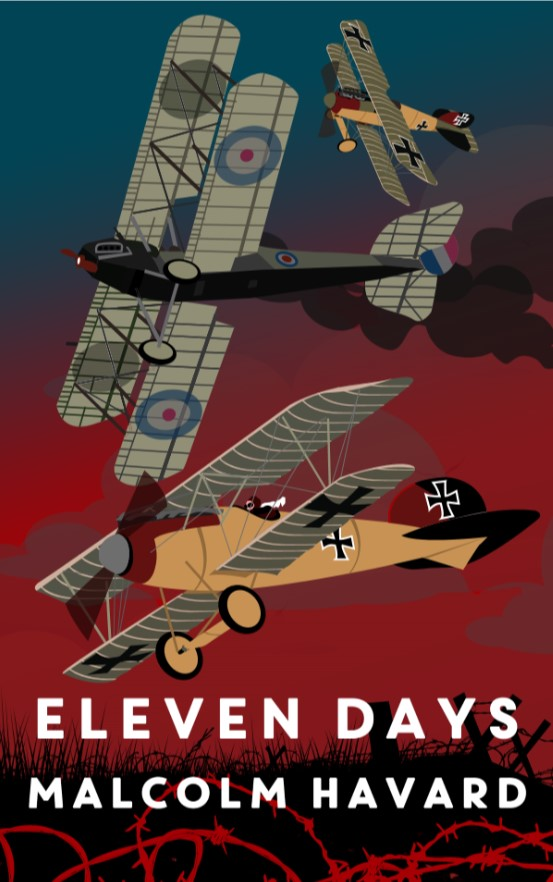 Malcolm Havard Promotion Eleven Days Cover